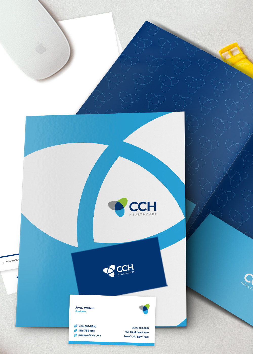CCH Healthcare Branded Papers - iDesign Branding