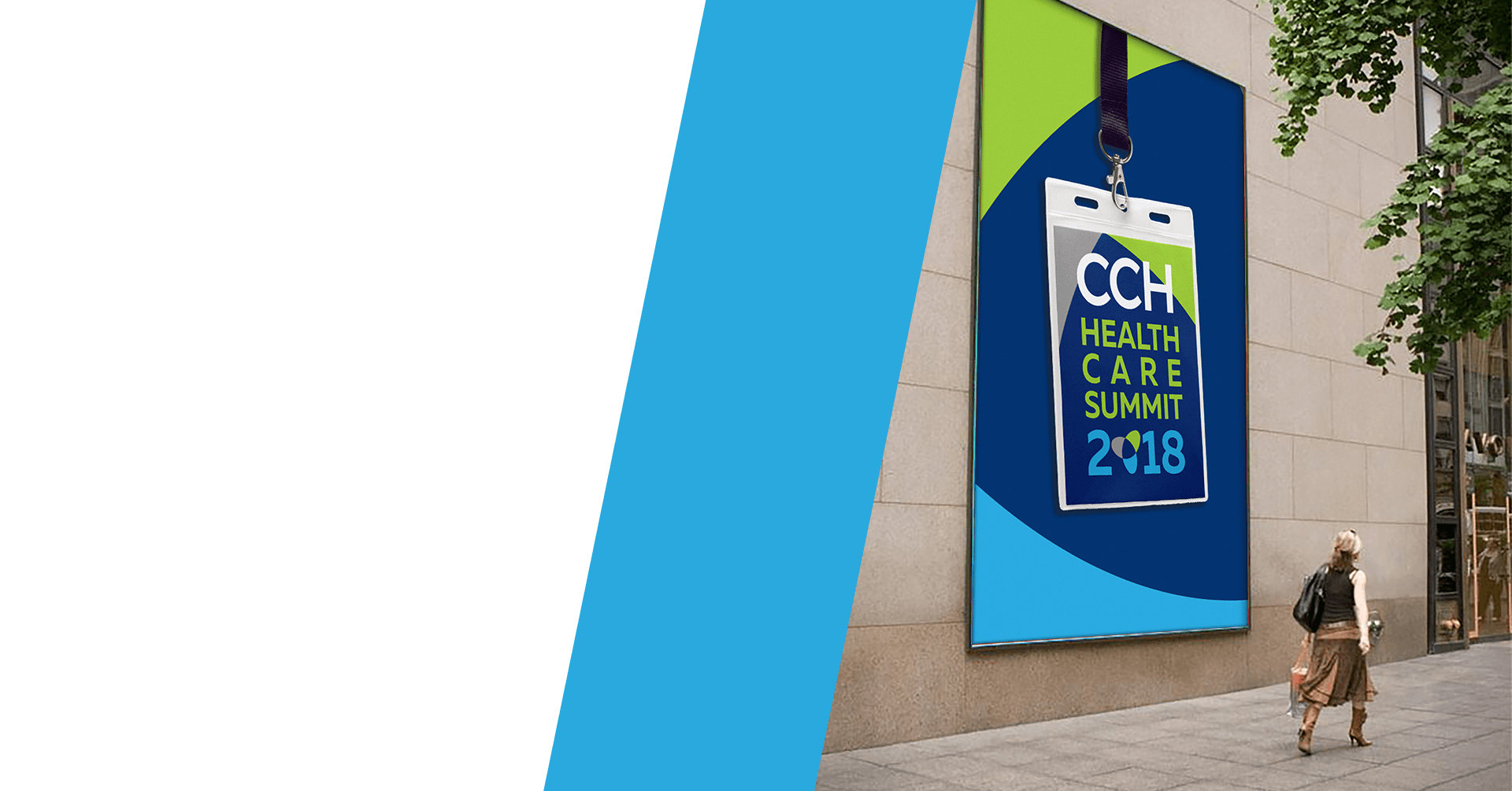 CCH Healthcare Wall Ad - iDesign Branding