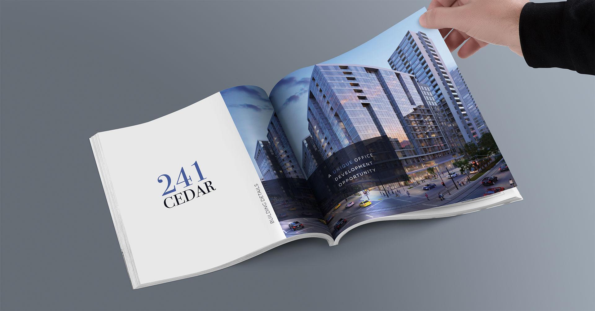 Cedar Developments Ad Book - iDesign Branding