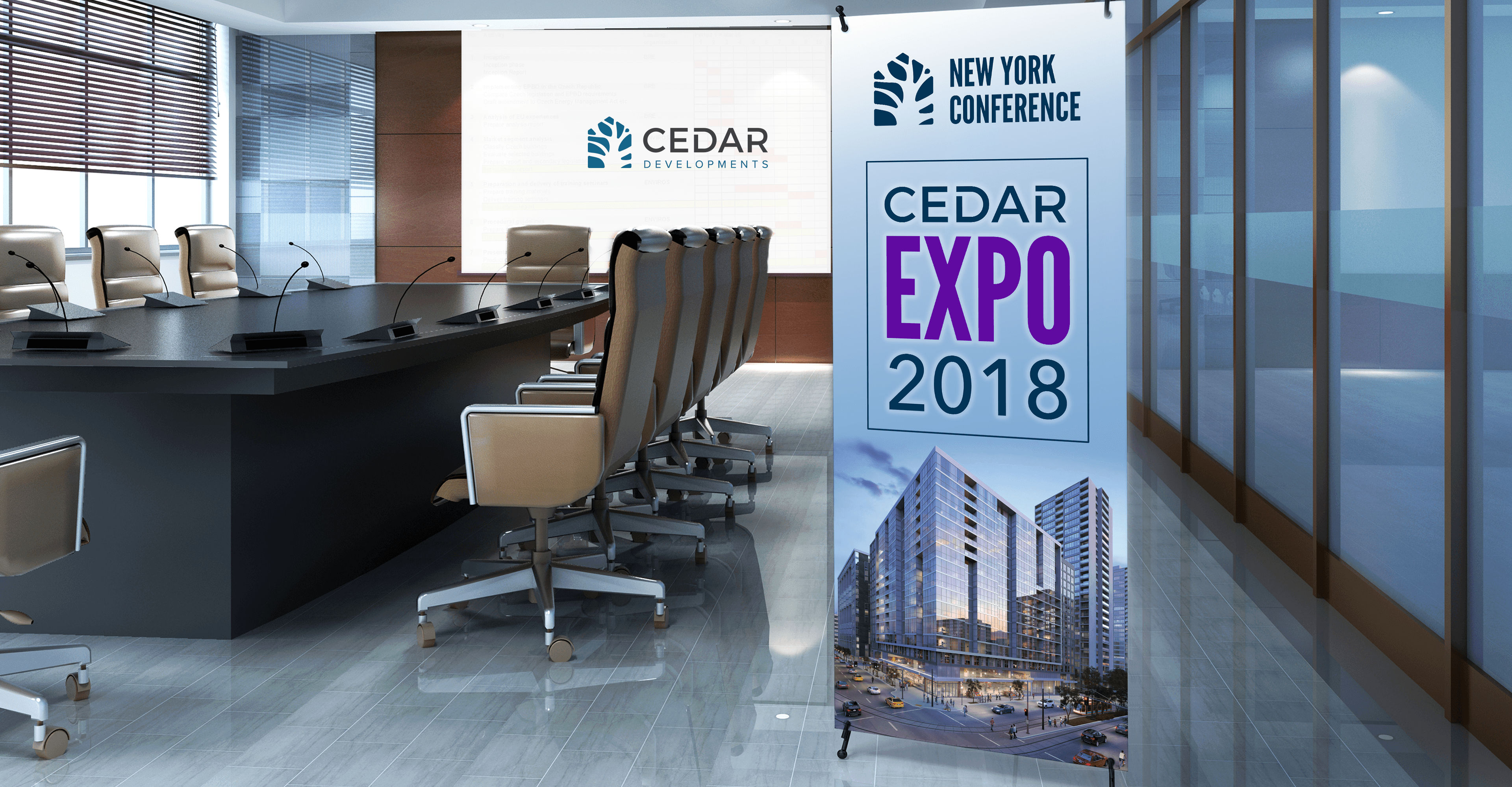 Cedar Developments Expo - iDesign Branding
