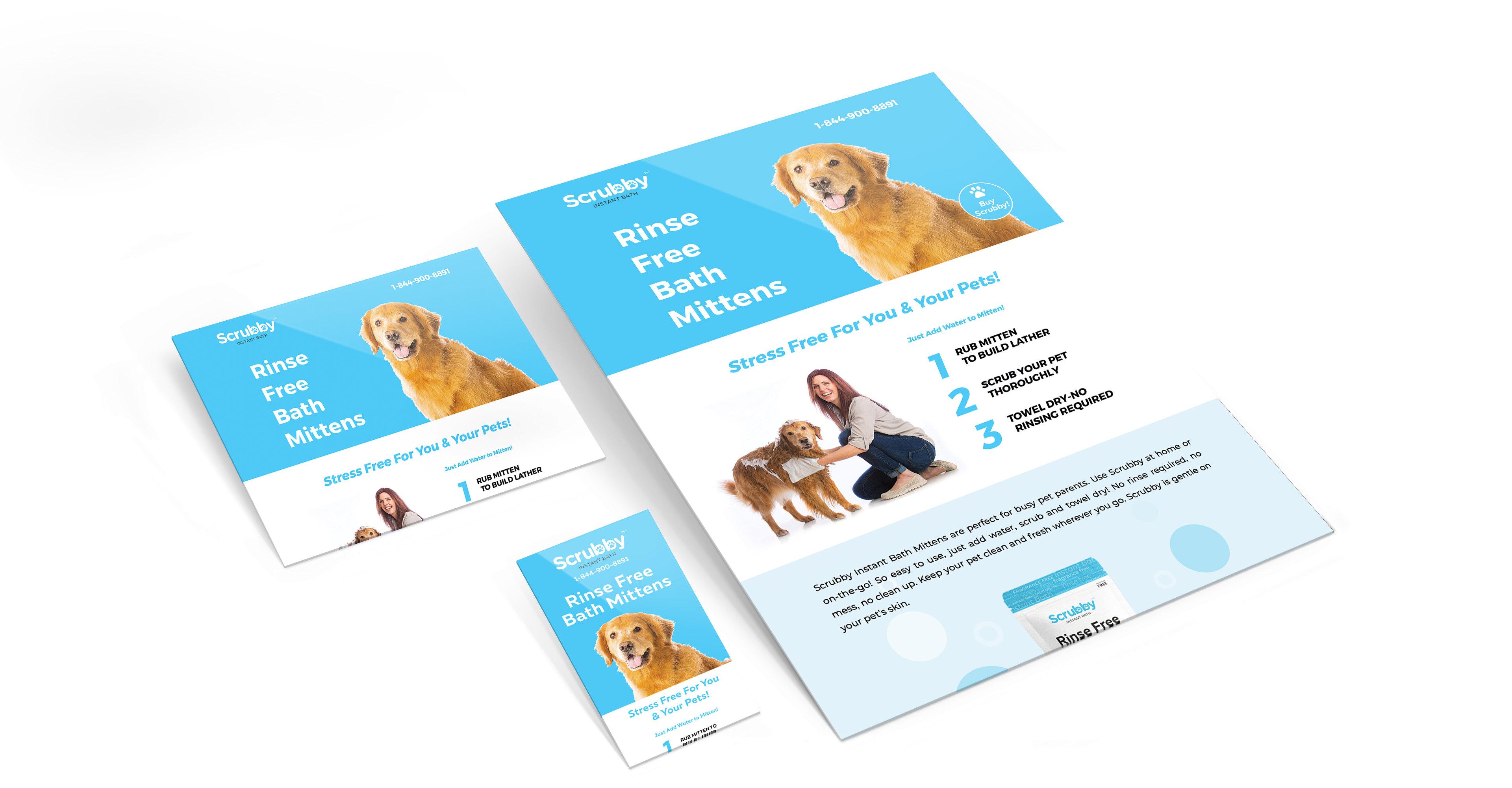 Scrubby Brochure - iDesign Branding