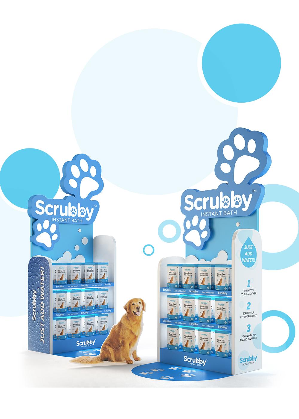 Scrubby End Cap - iDesign Branding