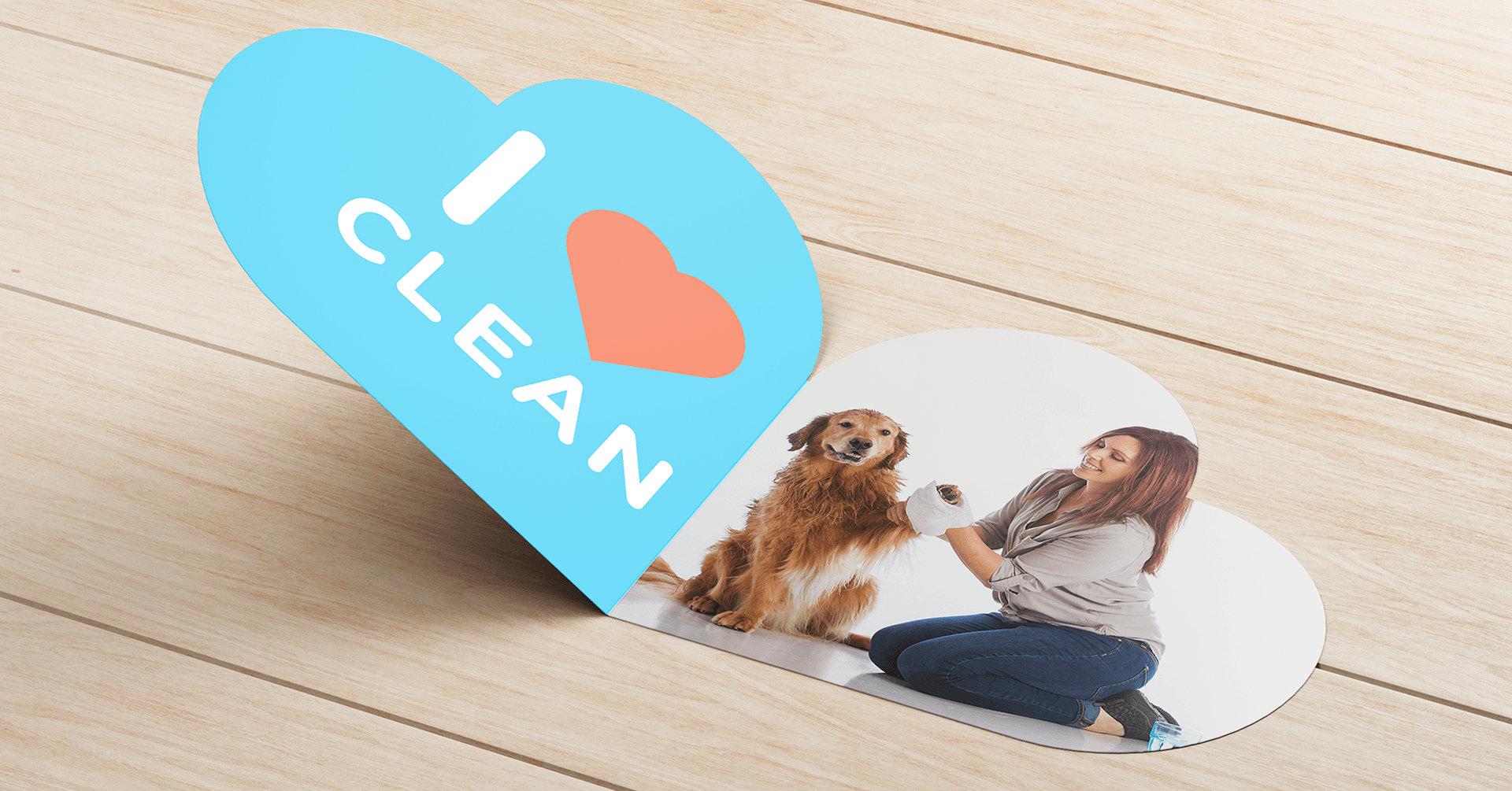 Scrubby I Love Clean - iDesign Branding