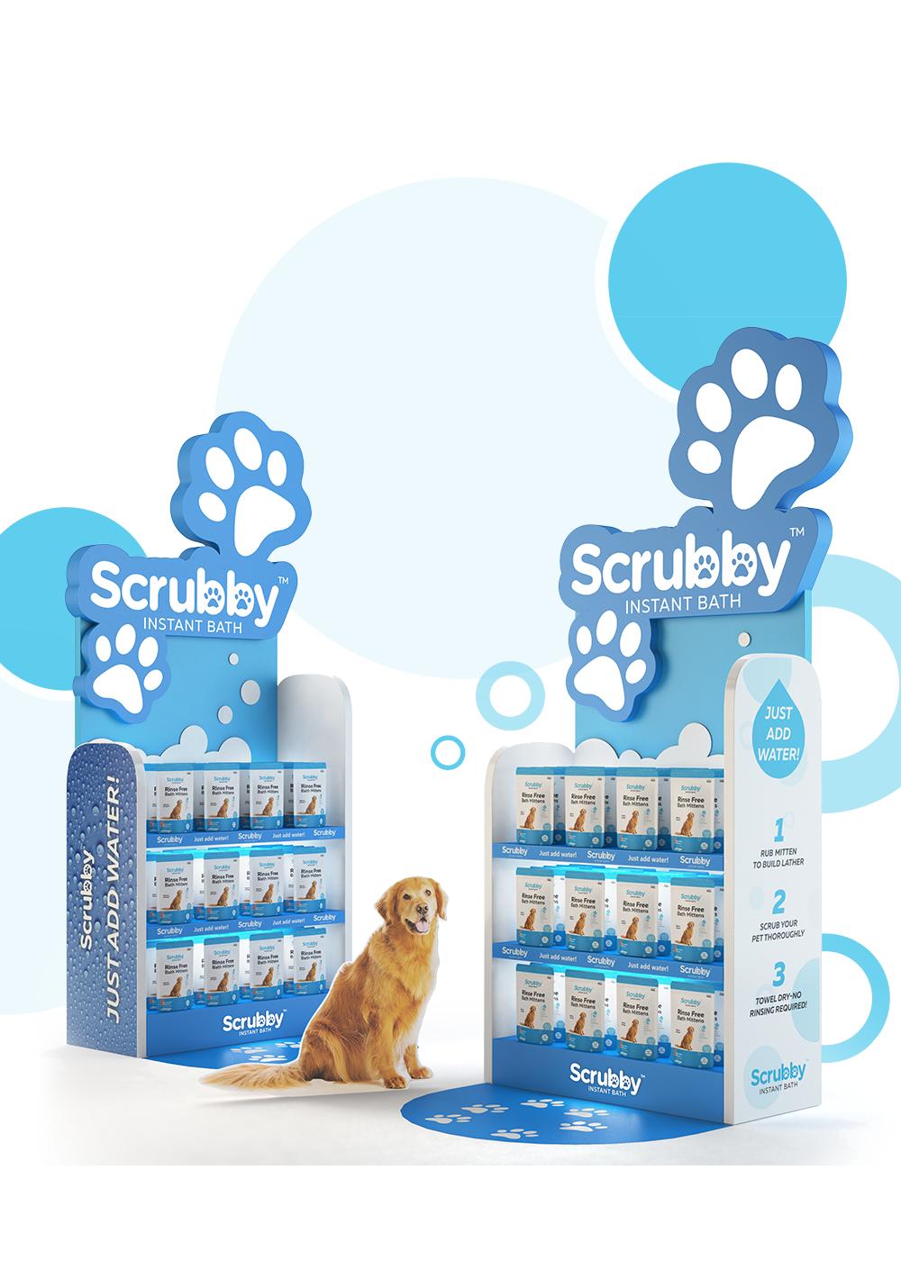 Scrubby Packaging - iDesign Branding